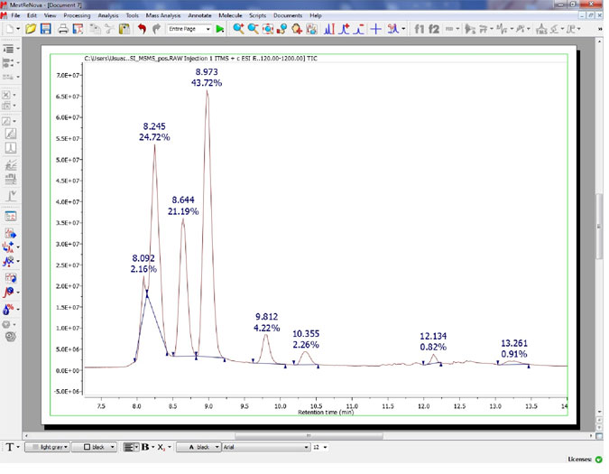 What's new in Mnova 6 1 0 - Mestrelab Resources