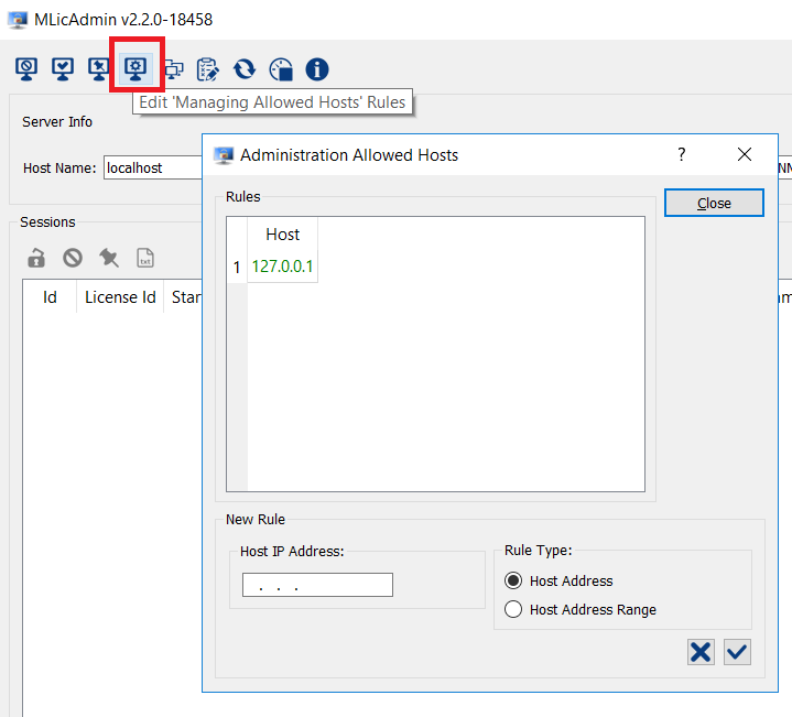 How to manage the campus or floating licenses with MlicAdmin