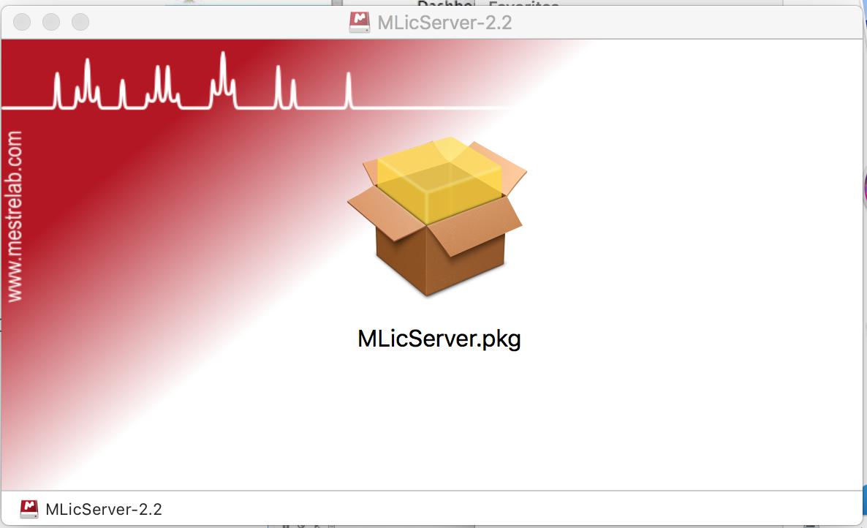 How to install a License Server (Mac) - Mestrelab Resources