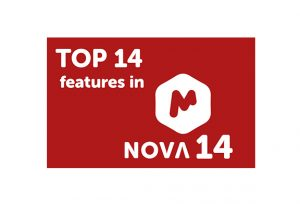 Top 14 features in Mnova 14
