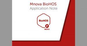 Mnova BioHOS – Application note